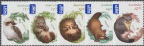 AUS SG3961-5 Australian Bush Babies (2nd Series) set of 5